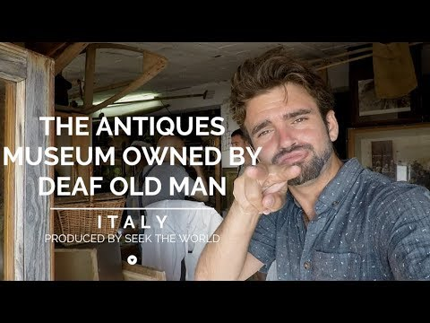 The Antiques Museum Owned By Old Deaf Man in Italy