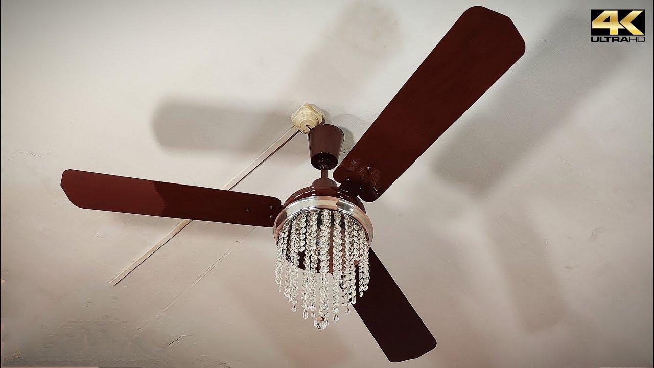 Vintage Chandelier Ceiling Fan Falling Down 💎 Part 46 | 4K60fps