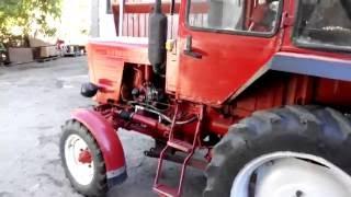 Ремонт Т 25,снятие двигателя