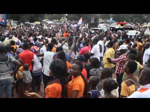 Nana Akufo-Addo begins tour in Greater Accra region