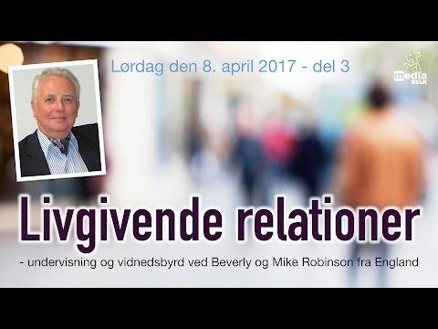 Livgivende relationer - Mike Robinson   Del 1