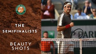 Beauty Shots #11 - The Semi-Finalists | Roland-Garros 2019