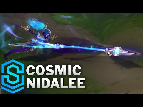 Cosmic Nidalee Skin Spotlight - Pre-Release - League of Legends