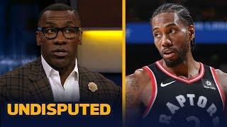 Warriors injuries make Raptors 'slight favorites' to win Finals — Shannon Sharpe   NBA   UNDISPUTED