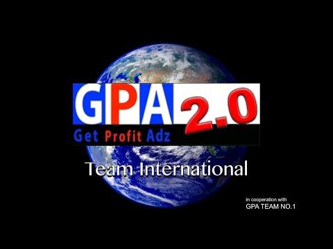 einfache & verständliche Erklärung – GPA Team International / Get Profit Adz / GPA 1.0 deutsch