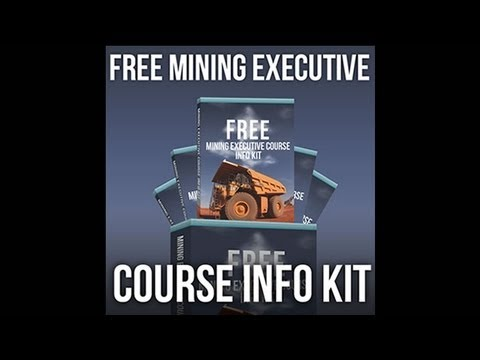 Access Your FREE Mining Executive Course Info Kit | Global Training Institute