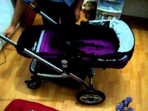 fe4d4d992 Carreola de Bebe 4 /1 - Carrinho de bebe 4 em 1 - YouTube