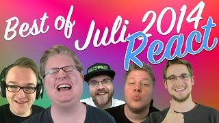 REACT: Best of Juli 2014