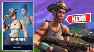 NEW RIO GRANDE Skin Gameplay in Fortnite!