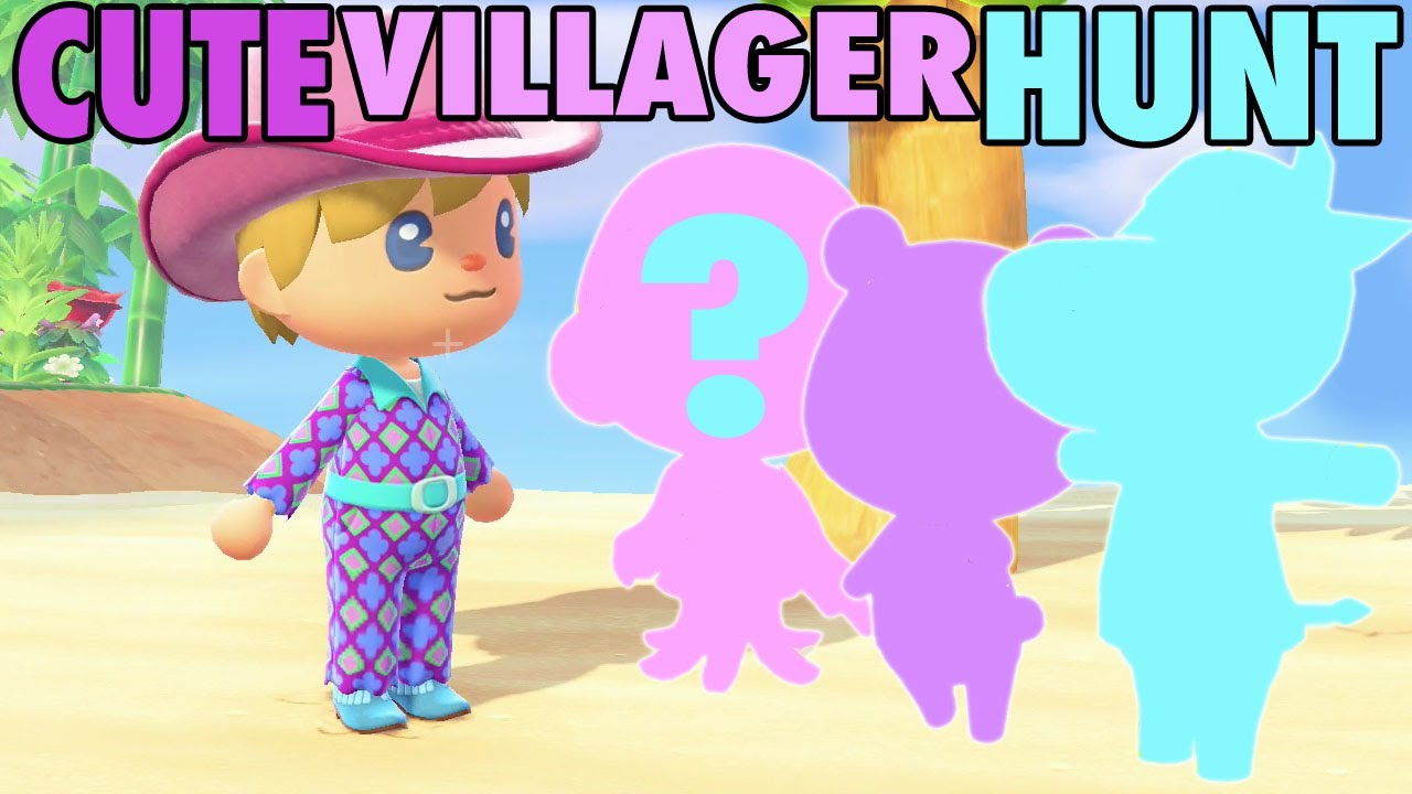 The Hunt for Cute and Rare Villagers in Animal Crossing ...