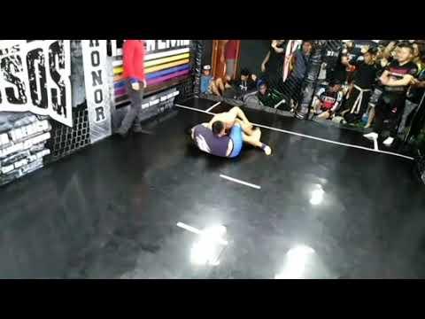 Albert Briseño vs Juan Diego Flores ( Final: Catg: Noveles 80kg)