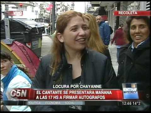 C5N - MUSICA: LOCURA POR CHAYANNE EN BUENOS AIRES (PARTE 2)