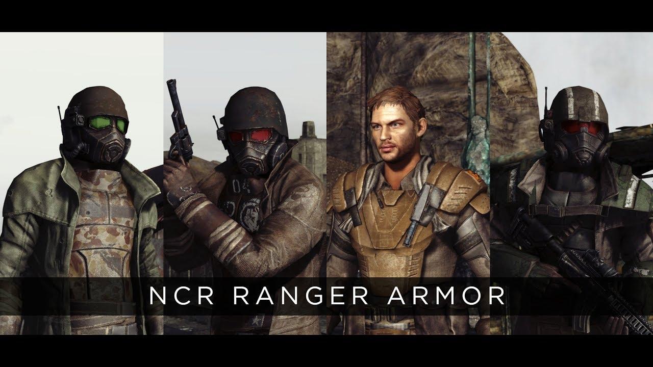 Fallout New Vegas 2019 Mod Ranger Armors Youtube