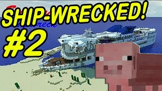 "Minecraft | SHIPWRECK! | ""The Prophecy of Pig Jungle"""
