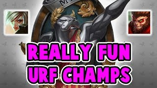 INSANELY FUN CHAMPS IN URF 2017 | ONE SHOTTING PEOPLE ALL GAME LONG | League of Legends