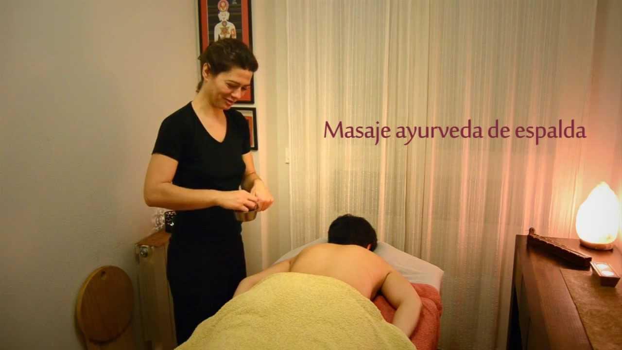 masaje ayurveda madrid