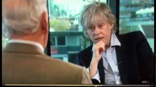 "Sir Bob Geldof on religion- ""Jesus was a pain"" & "" fuck off Lord"". Classic quotes!"