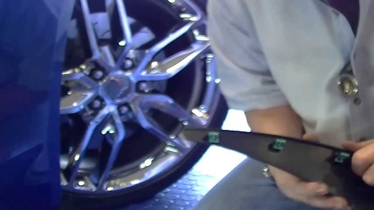 How To Install 2014 C7 Corvette Stingray Front Mudguards Youtube Painted Fuse Box Cover