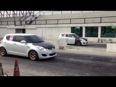 Suzuki Swift Eco @ bangkok drag avenue 16.9sec