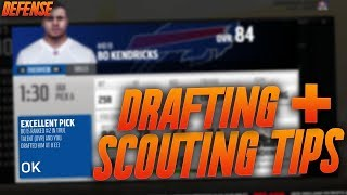 Madden 18 Franchise Scouting and Drafting Tips! How to Scout and Draft Defense!