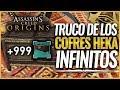 Assassin's Creed Origins | TRUCO Consigue COFRES HEKA INFINITOS / Armas Legendarias (FUNCIONA)