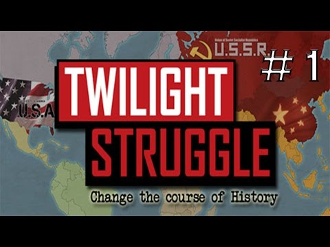 Twilight Struggle US VS. Russia Part 1/2