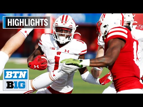 Highlights: Taylor Powers Badgers to Road Win | Wisconsin at Nebraska | Nov. 16, 2019