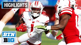 Highlights: Taylor Powers Badgers to Road Win Wisconsin at Nebraska Nov. 16, 2019