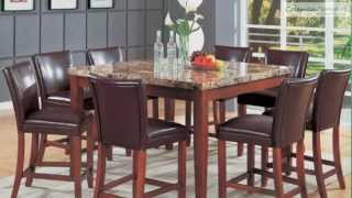 Accent Counter Height Dining Room Collection From Coaster Furniture