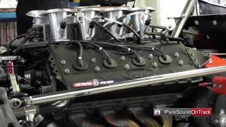 F1 Exhaust sounds @racetrack! Loud V8 Ford cosworth DFV