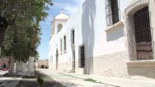 Restauran templo de San Ignacio de Loyola de Parras, Coahuila.