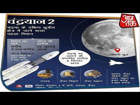 Chandrayaan LIVE: चांद के किस हिस्से पर उतरेगा चंद्रयान-2, पिछड़ जाएंगे US, रूस और चीन