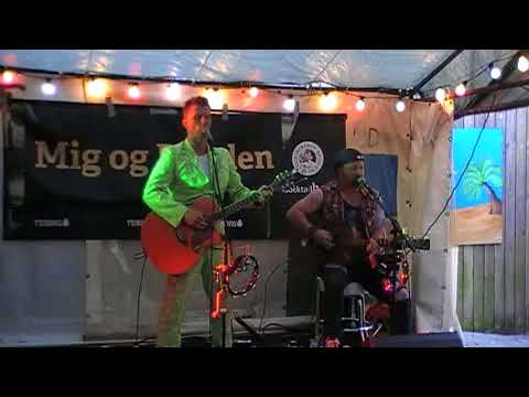 Go'Nat Bagsværd 27. maj 2016 med Mig og Bonden (Shu-Bi-Dua. Cover-duo) del.3