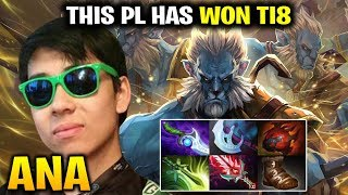 ANA This Phantom Lancer Helped Him WIN TI8