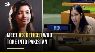 IFS Officer Sneha Dubey: Meet Indian Diplomat Who Lambasted Pakistan At UNGA