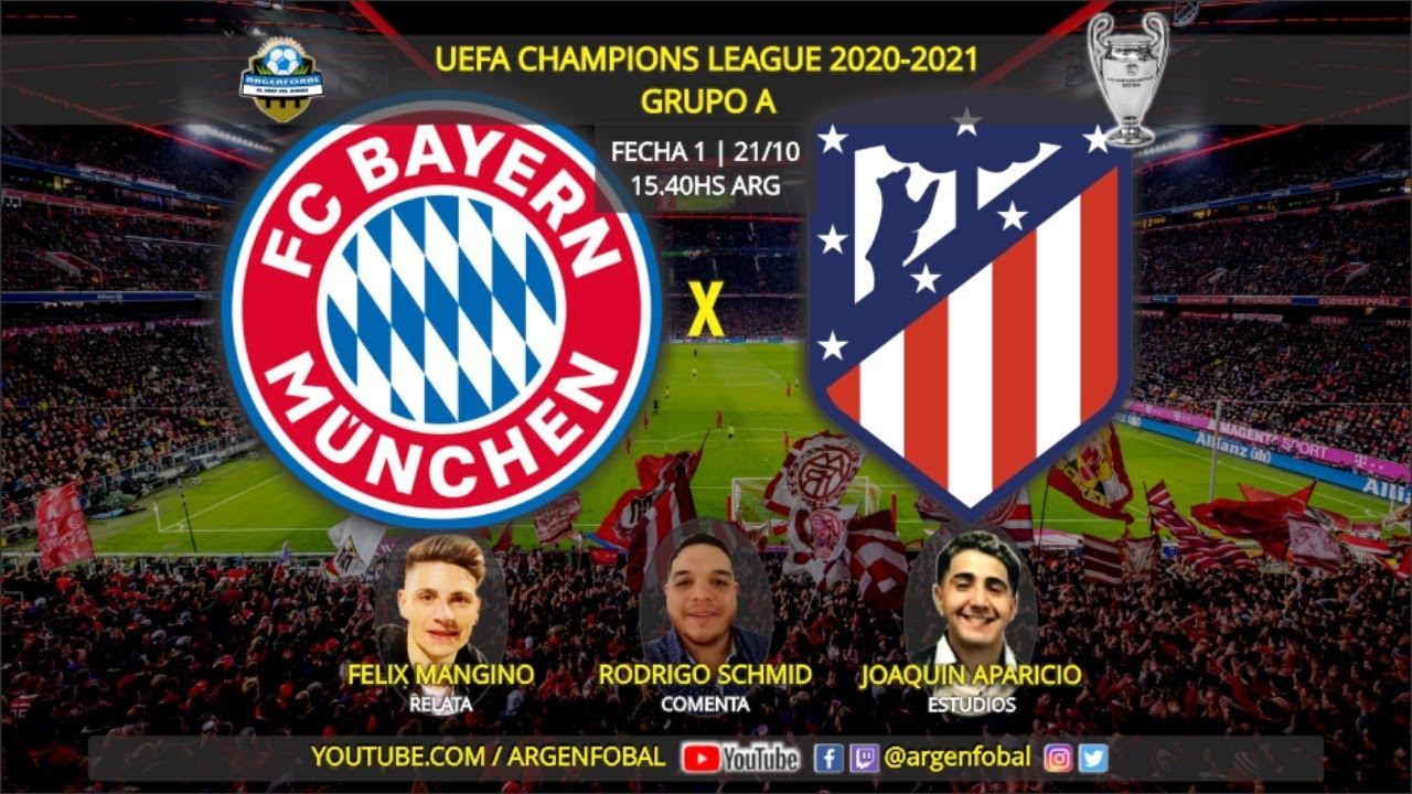 Bayern Atletico 2021