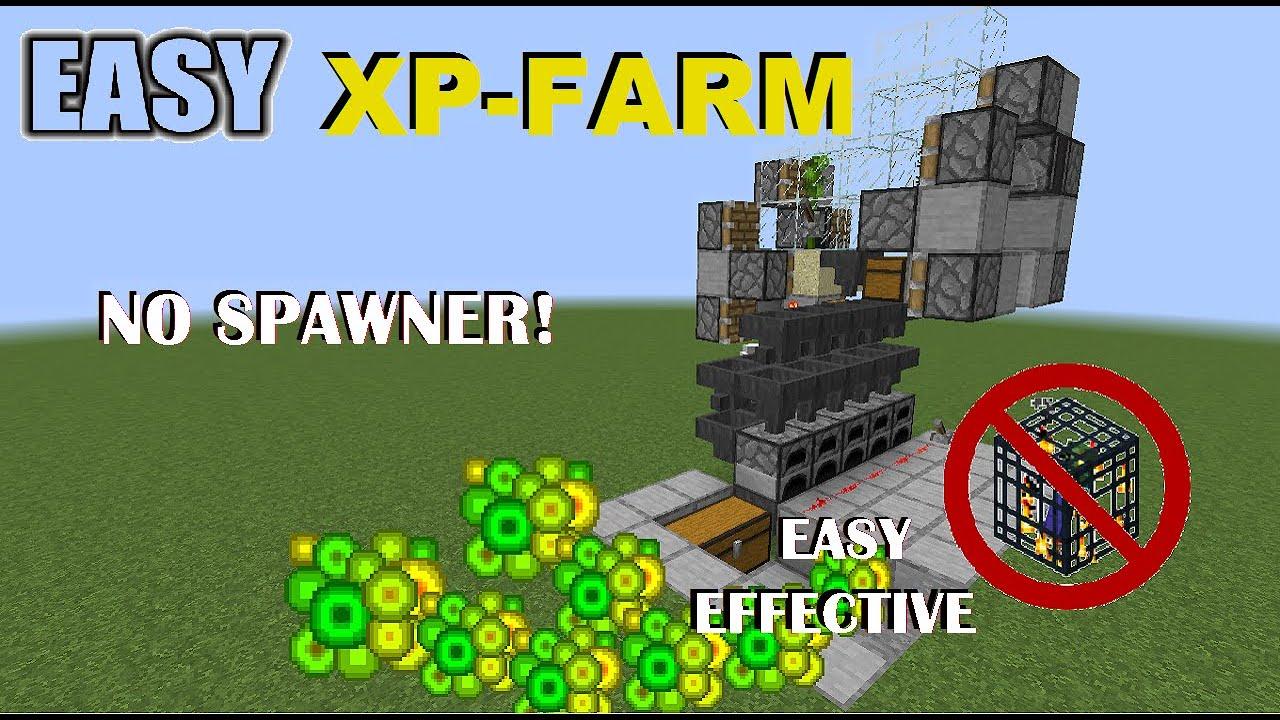Minecraft: Super Effective XP-Farm Automatic (12122.121225.122 / 12122.121226) [LEVEL 12  FAST] (Easy)
