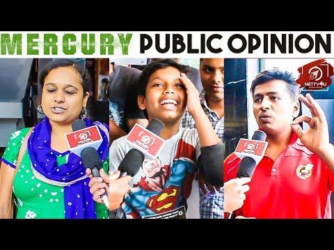 Mercury Public Review | Expectations Vs Reality | Karthik Subbaraj | Prabhudeva | Stone Bench Films