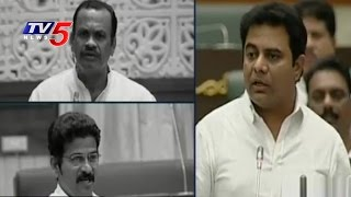 Opposition Questions KTR On Akkineni Nagarjuna N Convention in TS Assembly   TV5 News  