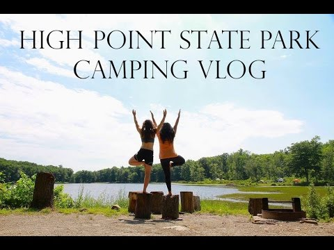 High Point State Park Camping Vlog
