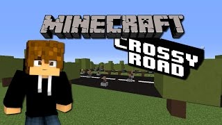 CROSSY ROAD MINECRAFT!! - [LuzuGames]