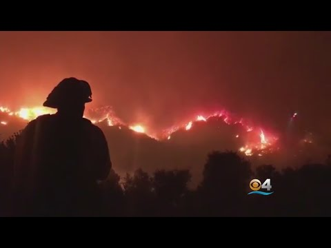 More Wildfire Spreads Near Los Angeles