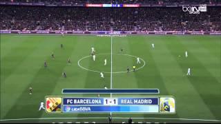 ملخص الكلاسيكو برشلونة - ريال مدريد (2-1) 22/3/2015