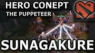 Dota 2 Concept Hero Spotlight - Sunagakure The Puppeteer