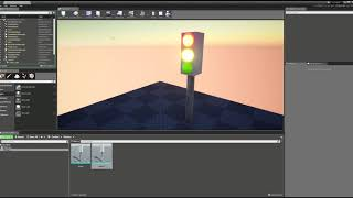 Exercise 1 -  Traffic Light - Submission for Unreal Engine course in Afeka