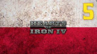 Hearts of Iron 4 -1933 - Polska #5 - Wojna z Aliantami