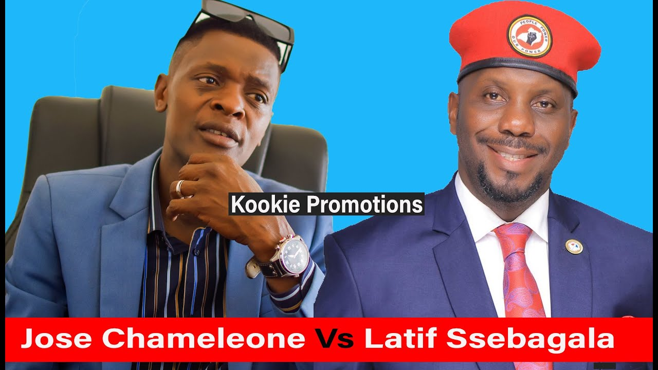 Jose Chameleon anafuyiiza Latif Ssebagala mukakiiko ka Bobi Wine, Nze owamaanyi gwe muyiinawo mu NUP