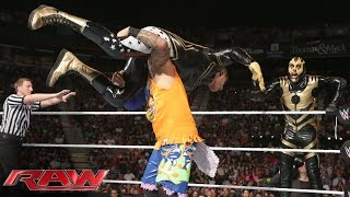 The Usos vs. Goldust & Stardust: Raw, Aug. 18, 2014
