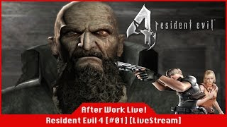 Resident Evil 4 [PS4] - Leon Kennedy Versus A Mob of Las Plagas [#01] [LiveStream]