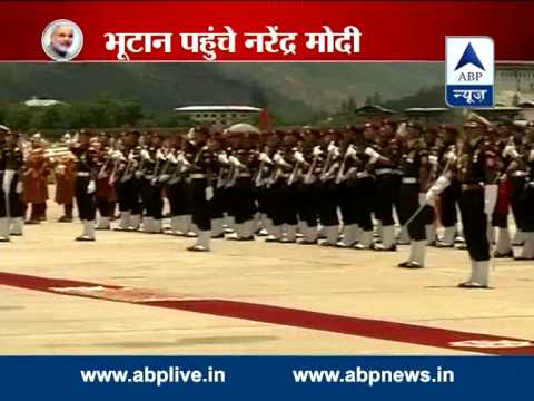 PM Modi arrives in Bhutan on his first foreign visit as PM